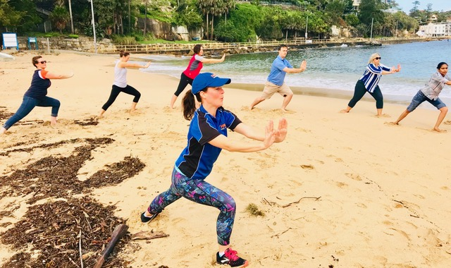 Corporate-Yoga-Stretch-Conferences at Manly and Q station
