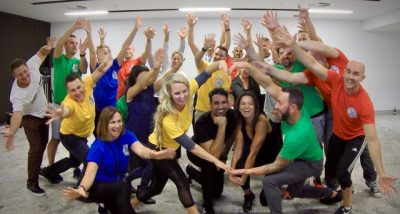 Think you can Dance or flash mob team activities by Thrill team events for groups