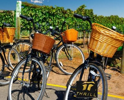 electric-e-bike-hunter-valley guided cycle tours to wine taste by Thrill