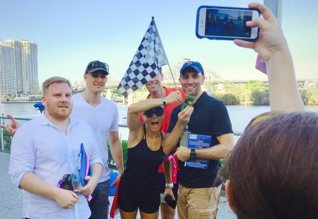 Brisbane Amazing Race events with Thrill team experiences for groups