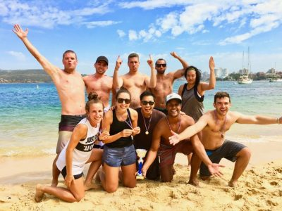 Manly Beach activities and events for groups to play whilstr staying at Novotel or Q Station