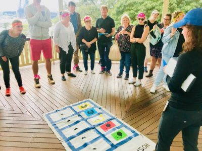 Mission Is Possible team development Master Mind activity in Sydney facilitated by Thrill training