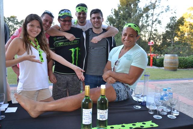 Hunter Valley Thrill Team Wine Tasting with Legs